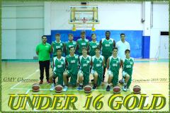 Under 16 Gold Maschile 10/11/2019